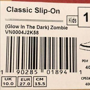 a12794655ed5 Vans Shoes - Glow in the Dark Zombie Vans
